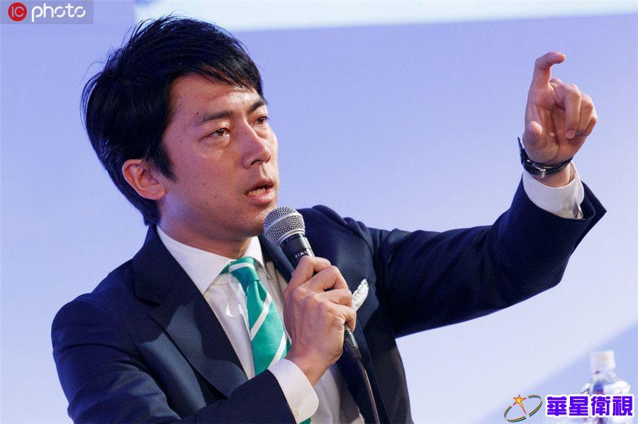 资料图:日本前首相小泉纯一郎之子、自民党议员小泉进次郎。ICphoto版权作品,请勿转载