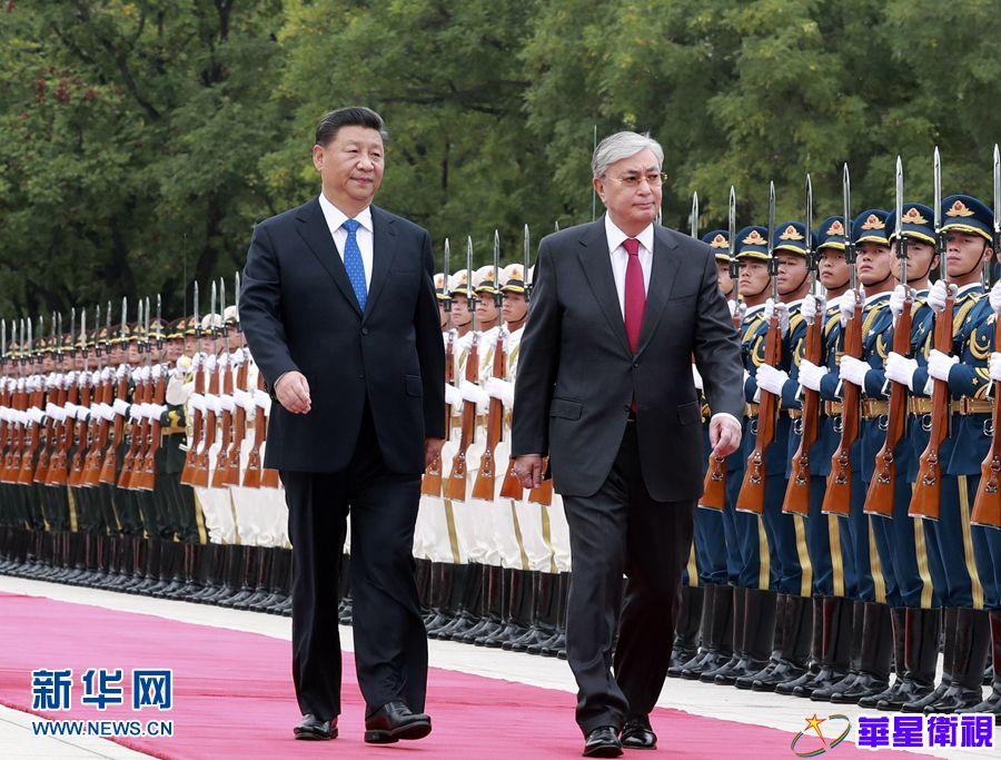 习近平同哈萨克斯坦总统托卡耶夫举行会谈 两国元首一致决定 发展中哈永久全面战略伙伴关系