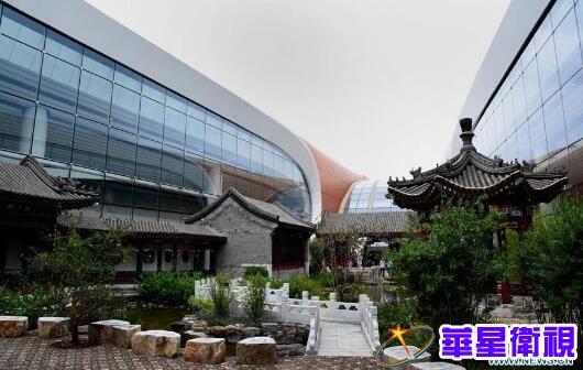 ▲这是北京大兴国际机场内的中国园(9月10日摄)。 新华社发(任超摄)
