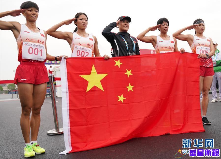 军事五项——女子个人全能:中国选手包揽前四名