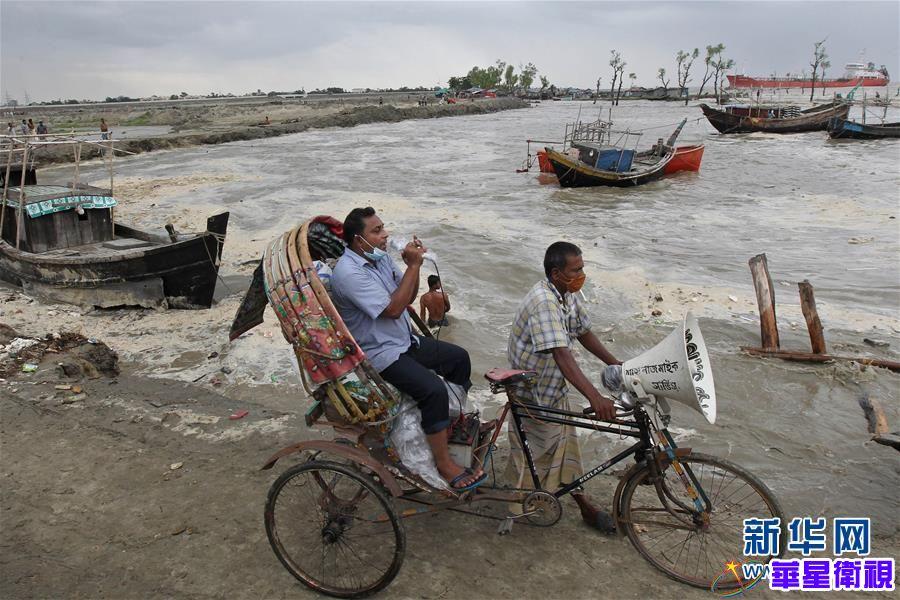 """孟加拉湾沿海地区迎战特强气旋风暴""""安攀"""