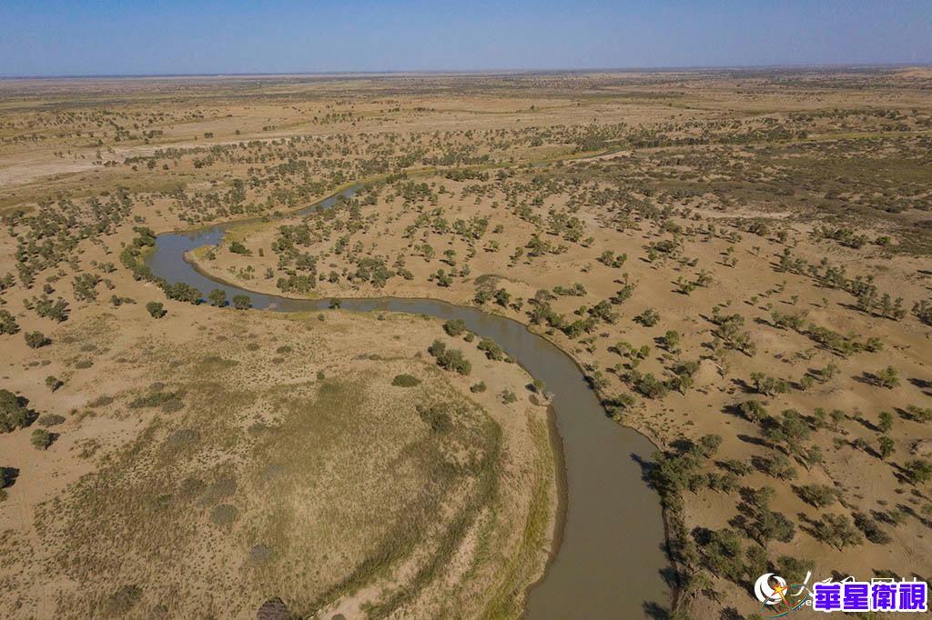新疆:第21次向塔里木河下游生态输水启动
