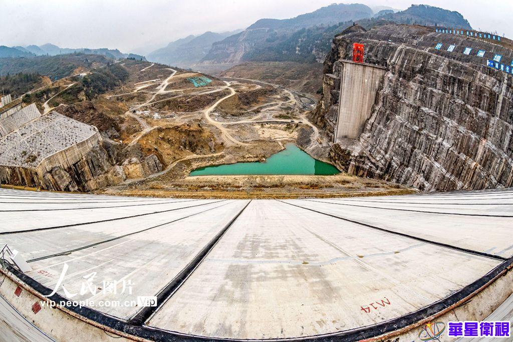 重庆南川:金佛山水利工程即将下闸蓄水