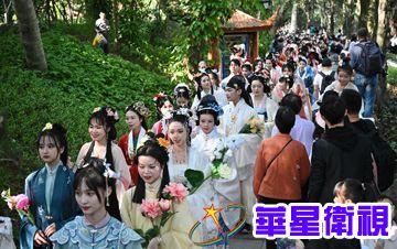 第二届福州西湖花朝节举行