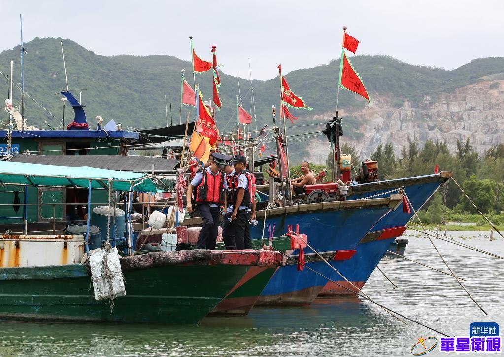 海南发布台风四级预警
